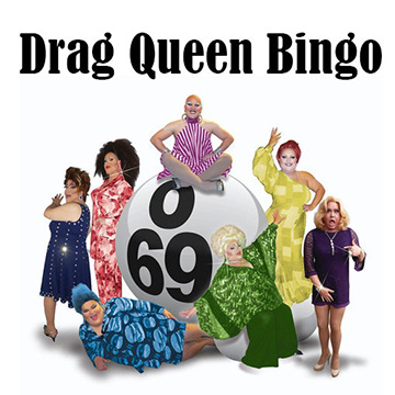 Drag Queen Bingo Benefit for Glamour Gowns and Suit Up
